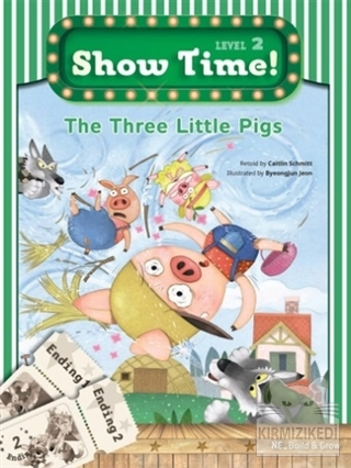 The Three Little Pigs Show Time! Level 2