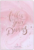 Marble Pembe Follow Your Dreams Defter