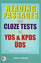 Reading Passages and Cloze Tests for YDS, KPDS, ÜDS